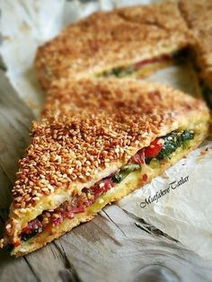 This pie is my favorite pie. Delicious Cake Recipes, Yummy Cakes, Snack Recipes, Dessert Recipes, Cooking Recipes, Good Food, Yummy Food, Turkish Recipes, Snacks