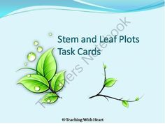 stem and leaf plot template - 1000 images about stem leaf plot on pinterest stems