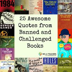 <p>Every year, the reading community celebrates banned and challenged books with Banned Books Week. We've pulled together some of our favorite quotes from those books. </p>