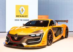 The incredible #Renault Sport R.S. 01 has been unveiled at the #Moscow Motorshow 2014. (c) OMG - Droits réservés Renault