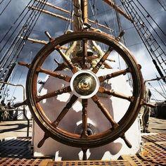Ship wheel..