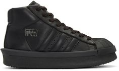 Rick Owens - Baskets noires Mastodon Édition adidas