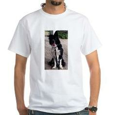border collie sitting T-Shirt > Border Collie > Paw Prints