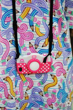 Amazing print! I love it! and pink camera