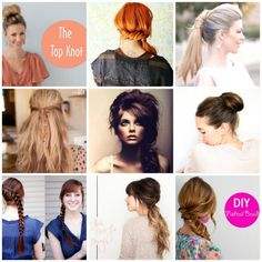 20 hairstyles for long hair - I'm gonna need to learn these as I have NOT cut my hair in over a year... its as long as it was in high school and I can't stand it on my neck!
