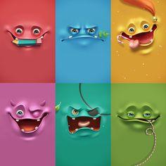 Découvrez cette magnifique collection de fonds d'écran aux visages humoristiques pour ordinateurs de bureau et Smartphones. Funny Face Wallpaper.  http://www.studiokarma.fr/funny-face-wallpaper/
