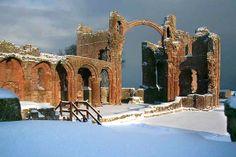 Lindisfarne Priory - 12th century - Holy Island - Northumberland