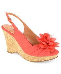CL by Laundry Shoes, Ilena3 Platform Wedge Sandals - Shoes - Macy's