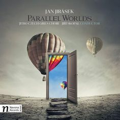 Today is #hotairballoonday. And looky here! We happen to have #coverart for upcoming release PARALLEL WORLDS that features #hotairballoons.