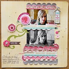 Love You Layout by designer Leslie Ashe.