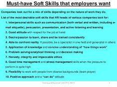soft skills list