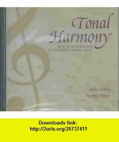 Tonal Harmony, With an Introduction to Twentieth-Century Music (9780072852622) Stefan Kostka, Dorothy Payne , ISBN-10: 0072852623  , ISBN-13: 978-0072852622 ,  , tutorials , pdf , ebook , torrent , downloads , rapidshare , filesonic , hotfile , megaupload , fileserve