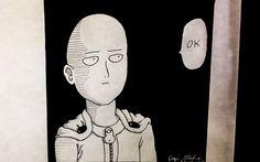 Drawing Saitama from One Punch Man Saitama, One Punch Man, Art Drawings, Hero, Painting, Painting Art, Paintings, Painted Canvas, Drawings