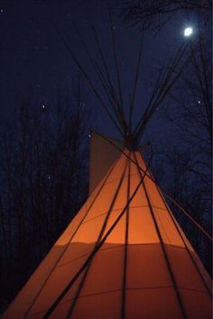 Why haven't I already gotten one of these? Yes please I need a Sixteen foot canvas tipi...