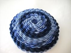 Crocheted cushion - By Sharon Blignaut
