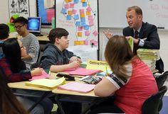 EHT teacher takes a new approach to social studies