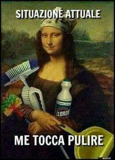Vabbe'.. Vado mi tocca pulire anche oggi!!! :)
