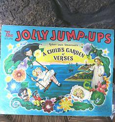 Jolly Jump-Ups Book A Child's Garden Of Verses by mybonvivant
