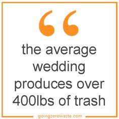 Going Zero Waste: Zero Waste Weddings vs Elopements