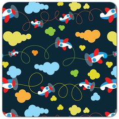 PUL fabric print. Cute fun print PUL for sewing cloth diapers, diaper covers, and more. How to sew PUL.