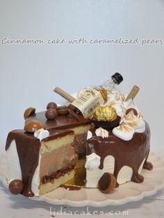 Cinamon&pears&chocolate Cake