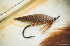 Fly Tying Archive • Huopana, a classic Finnish trout fly.