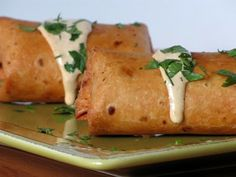 Chili's southwest eggrolls dupe  These have become a regular menu item here. I bake them instead of fry, so it's a fantastic, low fat way to get a bunch of veggies in a meal.