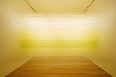 """""""Raume Yellow"""" thread installation by Anne Lindberg"""
