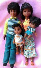 1977 Mattel AA SuNsHiNe HaPpY FuN family of 4. Complete nice +