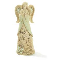Faith Angel, The Lord Is My Shepherd, Garden Figurine