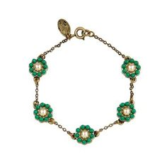 Team this lovely bracelet with matching earrings and necklace for a pretty, coordinated look.