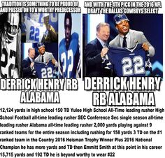 #derrickhenry #dallascowboys #alabama #2016nfldraft #dallascowboys #derrickhenry Derrick Henry Wants To Be A Dallas Cowboy