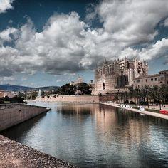 Mallorca Cathedral, Palma de Mallorca, Spain - Catedral de Mallorca...