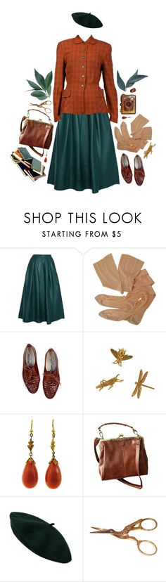 """""""LIFE WITH YOU IS LIKE EVERYTHING A LA MODE"""" by thinvein ❤ liked on Polyvore featuring TIBI, Cathy Waterman, vintage, classic, classy and retro"""