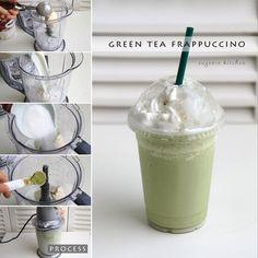 green tea frappucino