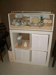 IKEA Billy Roborovski Hamster Cage