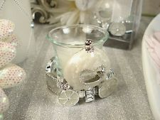 Cinderella Fairytale Carriage Tea Light Candle Holder Wedding Favors