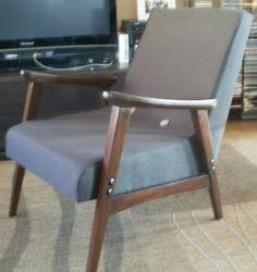 odnowiony fotela z PRL