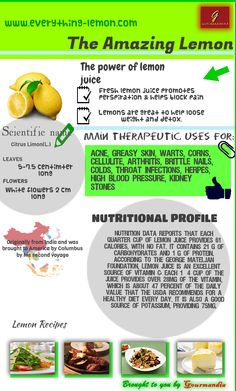 Everything Lemon is the place to find great lemon recipes. You can also learn about different varieties of lemons, lemon history, and more. Get Healthy, Healthy Tips, Healthy Eating, Healthy Foods, Health Remedies, Home Remedies, Herbal Remedies, Health And Nutrition, Health And Wellness