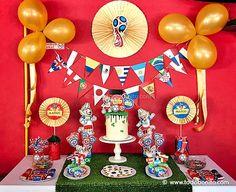 Ideas cumpleaños mundial de fútbol