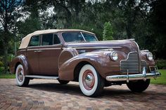 1940 Buick Model 81C Phaeton from the movie Casablanca starring Humphrey Bogart. Priceless......