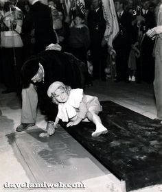 It wasn't long before the talented tot was immortalized in the cement of Grauman's Chinese Theater's forecourt.