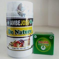 Obat Herbal Ambejoss & Salep Salwa DE NATURE Untuk Solusi Penyakit: - Wasir - Ambeien - BAB Sakit - BAB Berdarah - Benjolan Di Anus - Susah BAB - Anus Sakit / Perih / Panas - Dan berbagai keluhan wasir / ambeien lainnya. Palembang, Malang, Jaba, Deli, Coffee Cans, Taiwan, Herbalism, Bottle, Food