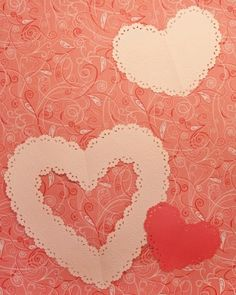 "See the ""Corner-Punched Heart"" in our Heart-Shaped Crafts gallery . . . Martha Stewart"
