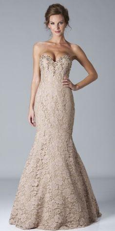 Janique  Mermaid Dress - dress I tried on w/ Ashley - game changer!