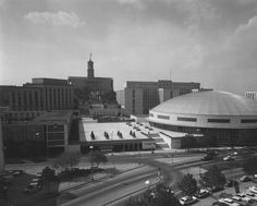 Tennessee State Library and Archives: Photograph and Image Search.  Municipal Auditorium and Capital Park Inn