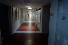 Level 0 Workshops corridor