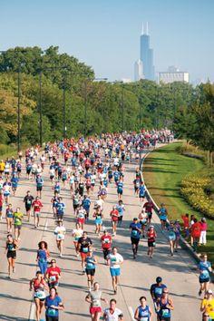 The Chicago Half-Marathon…