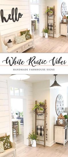 139 rustic farmhouse living room design and decor ideas for your home 10 House Design, New Homes, Rustic House, Rustic Home Decor, Rustic Farmhouse Living Room, House, Home, Farm House Living Room, Home N Decor