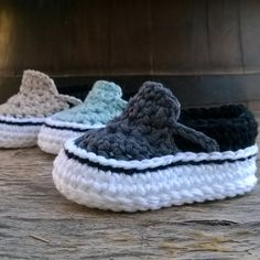 PATRON Zapatillas crochet estilo Vans . por ShowroomCrochet en Etsy